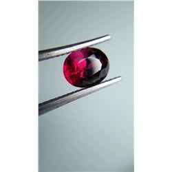 1.02ct Natural Rubellite, unheated, no radiation | GIA