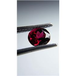 0.71ct Natural Rubellite, no heat, no radiation | GIA