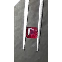 Genuine Blood Red Ruby, untreated, loose | IGL 0.711ct
