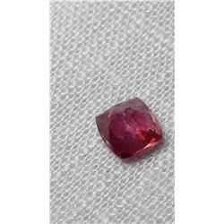 Padparadscha Sapphire, untreated, loose | GIA 1.24ct