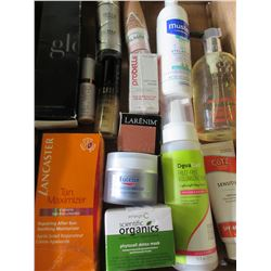 Flat full of NEW Assorted  Skin / Hair and makeup products