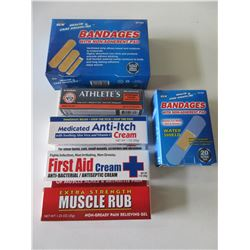 Bundle of First Aid Products / great value here
