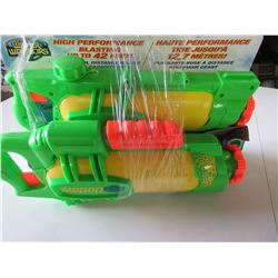 2 Water Warriers Water Blaster water guns shoots water up to 42ft