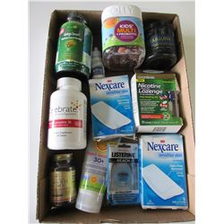 Flat of Assorted New Vitamins  and more