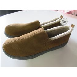 New Mossimo Mens Slippers Genuine Suede non marking sole / size 12