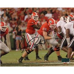 Dennis Roland Signed Georgia 8x10 Photo (Radtke COA)