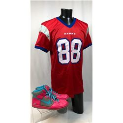 "Necessary Roughness (2011-2013) - Pro Football Shirt & Monogram Nike Shoes Worn by ""Terrence King"" ("