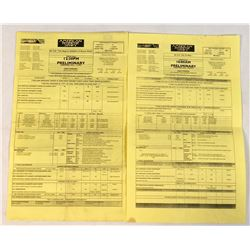 American Horror Story (2011– ) - Set of 2 Call Sheets (2013)