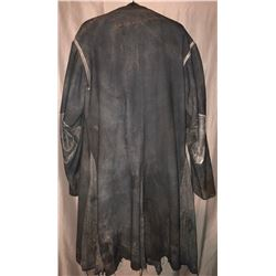 Last Knights (2015) - Raiden (Clive Owen) Full Black Leather Jacket and Cloth