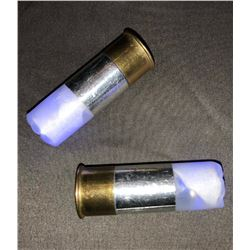 Sleepy Hollow (2013–2017) - Set of 2 Blue Light Up Shotgun Shells - Lot A