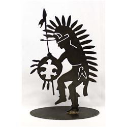 Spirit Shield Laser Metal Art Spirit Dancer