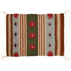 Beautiful Native American Navajo Wool Textile Rug