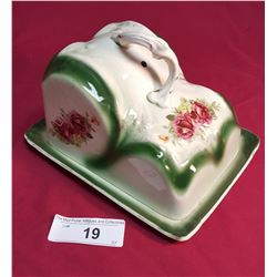 Victorian Covered Butter Dish