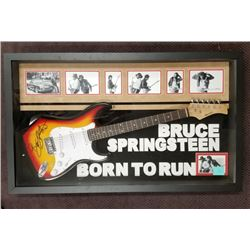 """Bruce Springsteen """"Born to Run"""" Signed Guitar"""