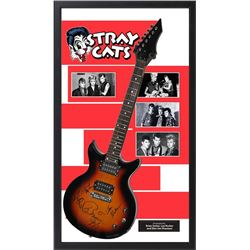Stray Cats Signed Guitar