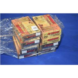 Bag Lot : Eight Boxes ( 20 rnds per ) Vour - TX .280 Rem Cal 140 Grain Factory Ammo