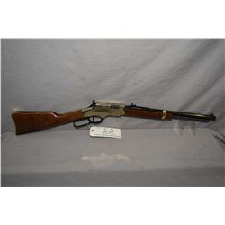 "Henry Repeating Arms Model Golden Boy .22 LR Cal Lever Action Carbine w/ 17"" octagon bbl [ appears e"