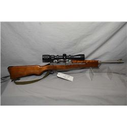 "Ruger Model Mini 14 .223 Cal Mag Fed Semi Auto Carbine w/ 18 1/2"" bbl [ stainless finish, with some"