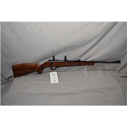 """Walther Model KKJ .22 LR Cal Mag Fed Bolt Action Rifle w 22"""" bbl [ blued finish, starting to fade at"""