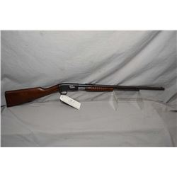 "Remington Model 12 A .22 LR Cal Pump Action Tube Fed Rifle w/ 22"" bbl [ fading blue finish with some"
