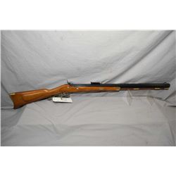 "CVA Model Hawken .50 Perc Cal Left Hand Black Powder Rifle w/ 28"" heavy octagon bbl [ blued finish,"