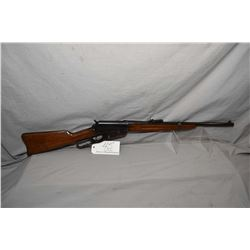 "Winchester Model 1895 .30 US - 06 Cal Lever Action Saddle Ring Carbine w/ 22"" bbl [ fading reblued f"