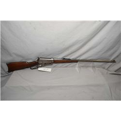 "Winchester Model 1895 .30 US Cal / .30 - 40 Krag Cal  Lever Action Rifle w/ 28"" rnd bbl [ fading blu"