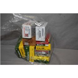 Bag Lot : 69 Rnds .30 - 30 Cal Ammo - Approx. 80 Plus Rounds .45 Colt Ammo - One Box ( 50 rnds ) .38