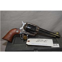 Ruger Model Vaquero .45 Colt Cal 6 Shot Revolver w/ 140 mm bbl [ blued finish, fading case colored r