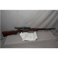 "Remington Model 550 - 1 .22 LR Cal Tube Fed Semi Auto Rifle w/ 24"" bbl [ reblued by Dave Henry, and"