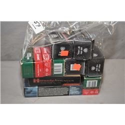Bag Lot : 1 Box Federal .308 Win Cal Ammo [ 20 rnds per )  - 1 Box Hornady Match .308 Win Ammo [ 20