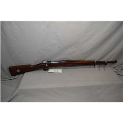 Swedish Mauser ( Carl Gustaf ) Model 1896 Short Rifle Dated 1915  6.5 x 55 Cal Bolt Action Full Wood
