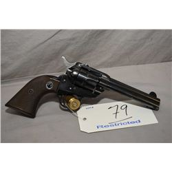 Ruger Model Model Single Six ( Early Three Screw Flat Top ) .22 LR Cal 6 Shot Revolver w/ 117 mm bbl