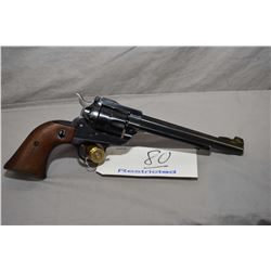 Ruger Model Single Six ( Early Three Screw ) .22 LR Cal 6 Shot Revolver w/ 165 mm bbl [ blued finish