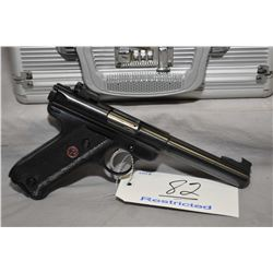 Ruger Model Mark II Target .22 LR Cal 10 Shot Semi Auto Pistol w/ 140 mm heavy bull bbl [ appears ex