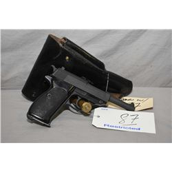 Walther ( by Walther ) Model P38 .9 MM Luger Cal 8 Shot Semi Auto Pistol w/ 125 mm bbl [ two toned f