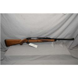 "Ruger Model Magnum Safari .375 H & H Mag Cal Bolt Action Rifle w/ 23"" heavy bbl [ appears v - good,"