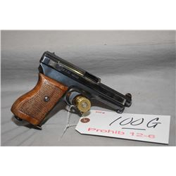 Mauser Model 1934 7.65 MM Cal 8 Shot Semi Auto Pistol w/ 89 mm bbl [ blued finish with slight holste