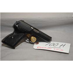 Mauser Model HSC 7.65 MM Cal 8 Shot Semi Auto Pistol w/ 86 mm bbl [ blued finish, slight holster wea