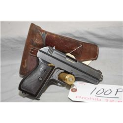 Bohmische Waffenfabrik Model 27 7.65 MM Cal 7 Shot Semi Auto Pistol w/ 98 mm bbl [ blued finish, bla