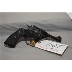 Webley Model Mark IV Police & Military .38 S & W Cal 6 Shot Revolver w/ 102 mm bbl [ blued finish, f