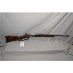 "Winchester Model 1886 Semi Deluxe Take Down .33 WCF Cal Lever Action Rifle w/ 24""light weight round"