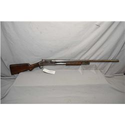 "Winchester Model 1897 .12 Ga Pump Action Shotgun w/ 30"" full choke bbl [ blued finish faded to grey"