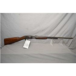 "Remington Model 12 .22 LR Cal Tube Fed Pump Action Rifle w/ 25"" bbl [ traces of blue in protected ar"