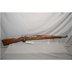 Swedish Mauser by Husqvarna Model 1938 Short Rifle Dated 1942  6.5 x 55 Swed Maus Cal Bolt Action Fu