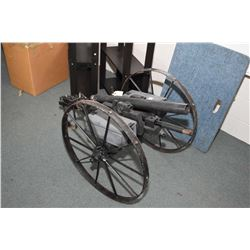 "Hand Made Cannon 2"" Bore with 27"" bbl - 2"" Diameter Wheels"