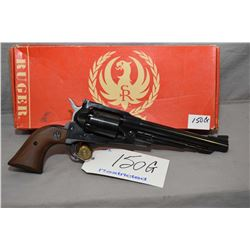 Restricted - Ruger Model Old Army .44 Perc Cal 6 Shot Revolver w/ 191 mm bbl [ appears excellent in