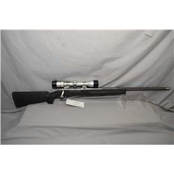 """Remington Model 700  .264 Win Mag Cal Bolt Action Rifle w/ 26"""" heavy fluted bbl [ stainless finish w"""