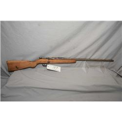 "Cooey Model Single Barrel .22 RF Cal Single Shot Bolt Action Rifle w/ 22"" bbl [ blued finish faded t"