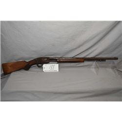 "Savage Model 1925 ? .22 LR Cal Tube Fed Pump Action Rifle w/ 24"" bbl [ faded blue finish, turned bro"
